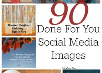 Fall Social Media Images Package