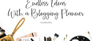 Endless Ideas With a Blogging Planner