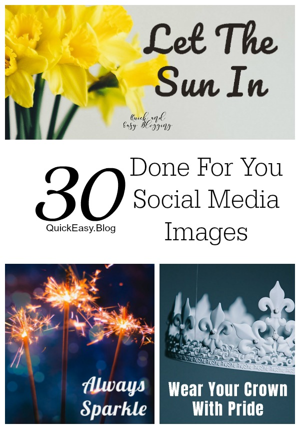 March Done For You Social Media Images that are perfect for facebook, instagram and twitter