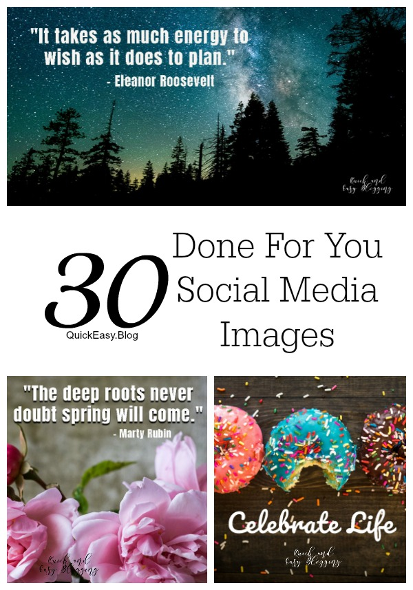 30 April done for you social media images